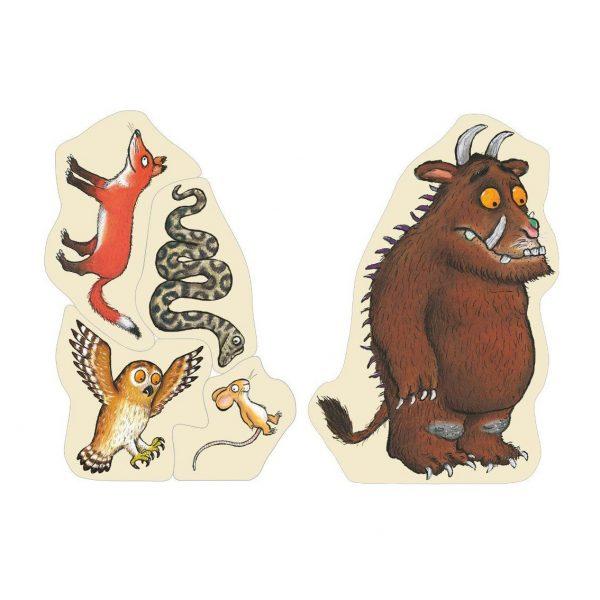 Puzzle figure di legno Il Gruffalo Bajo