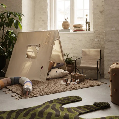 Tenda gioco cotone organico Natural Ferm Living