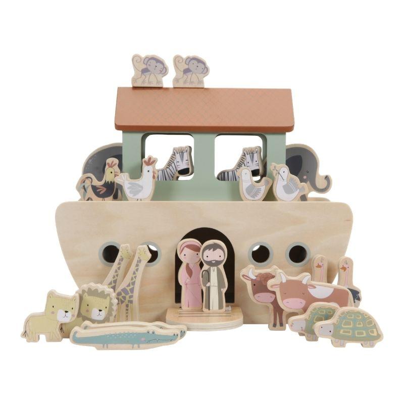 Arca di Noè con animali Little Dutch