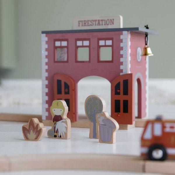 Caserma dei pompieri estensione railway Little Dutch