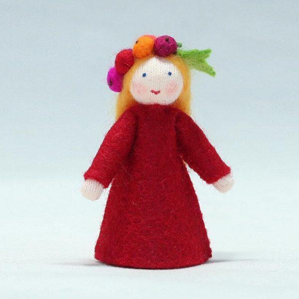 Figura Waldorf Fata Redcurrent Ambro-dolls