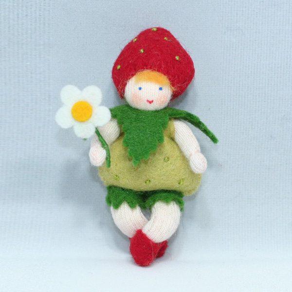 Figura Waldorf Fata Strawberry Baby Ambro-dolls