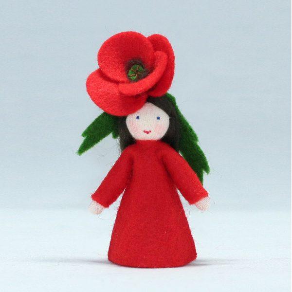 Figura Waldorf Fata Summer Poppy Ambro-dolls