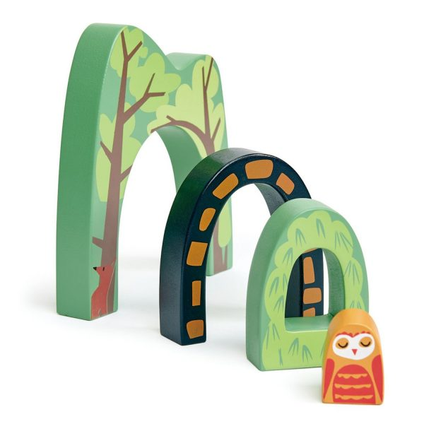 Set gioco Forest Tunnels Tender Leaf