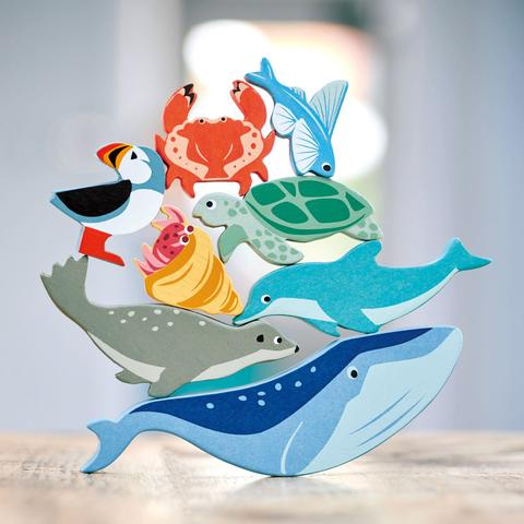 Set gioco 10 animali del mare Tender Leaf