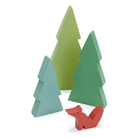 Set gioco bosco Fir Tops Tender Leaf