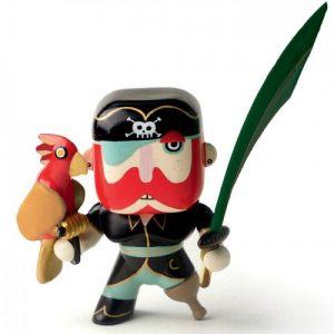 Figura in vinile Arty Toys Pirata Sam Parrot Djeco