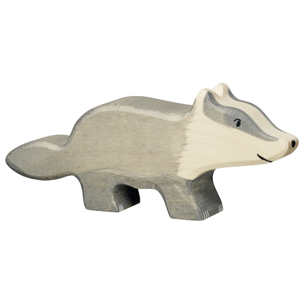 Figura legno Tasso - Holztiger