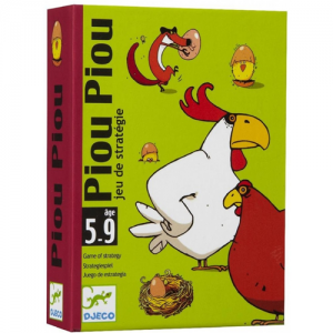 Gioco carte Piou Piou difendi il pollaio Djeco