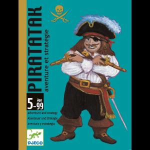 Gioco carte costruisci il veliero Piratatak Djeco