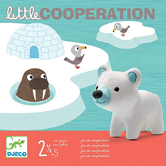 Gioco da tavolo Little cooperation Djeco