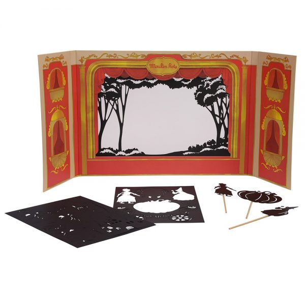 Gran Teatro delle ombre + personaggi Moulin Roty