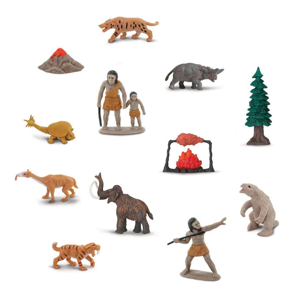 Set 12 miniature Prehistoric Life TOOB® Safari LTD
