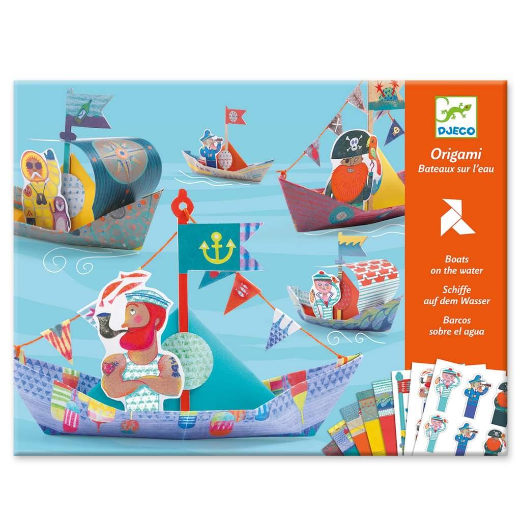 Set Origami 15 barchette Djeco