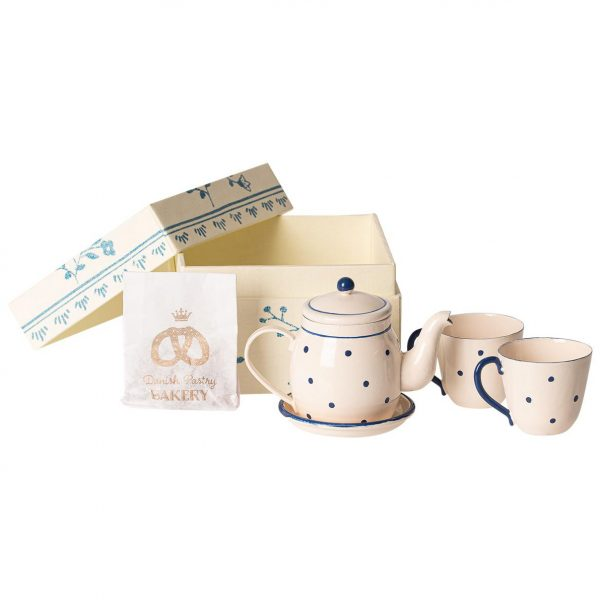 Set gioco miniatura Tea & biscuits for two Maileg