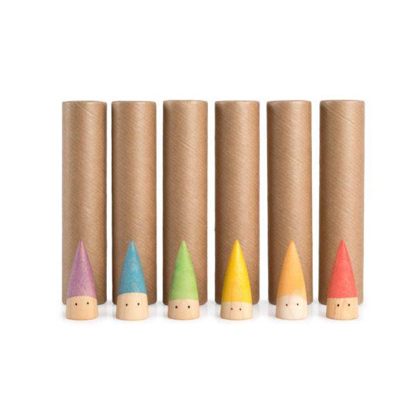 6 Baby Sticks + tubo di cartone Grapat