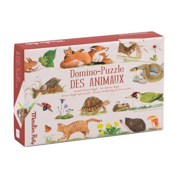 Domino - puzzle degli animali Le Jardin Moulin Roty