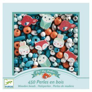 Kit perline per collane e braccialetti Little animals Djeco