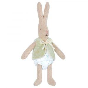 Mini coniglio pupazzo bebè maschio Maileg