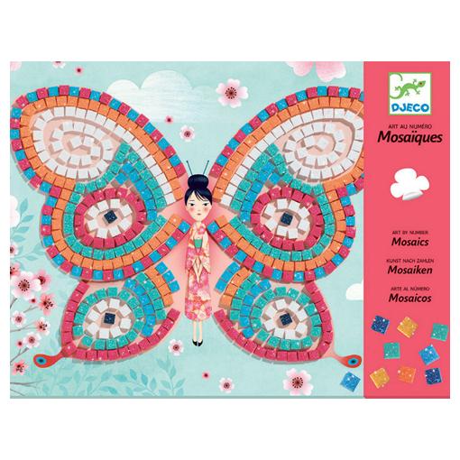 Set artistico Mosaico Farfalle Djeco