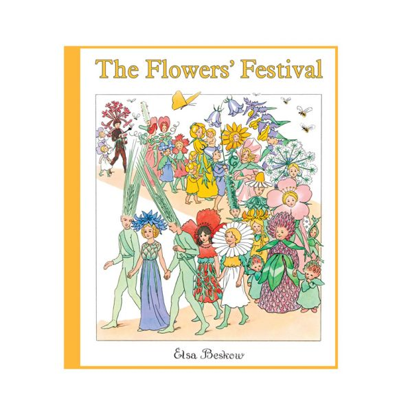 The flowers' festival - lingua inglese Elsa Beskow