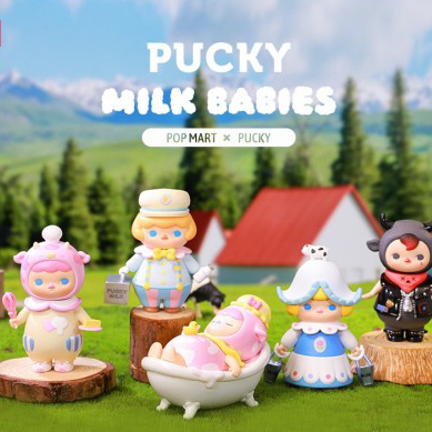 Figura in vinile Pucky Milk Babies - blind box Pop Mart