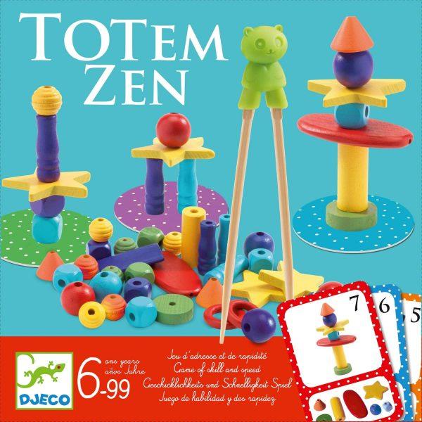 Gioco da tavolo con bacchette Totem Zen Djeco