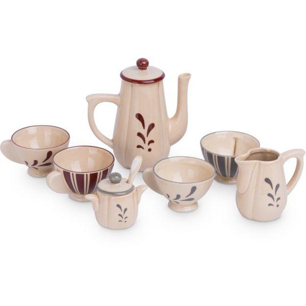 Gioco simbolico Servizio del the ceramica Konges sløjd