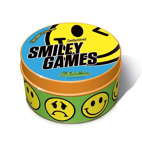 Smiley Games - 5 giochi in uno