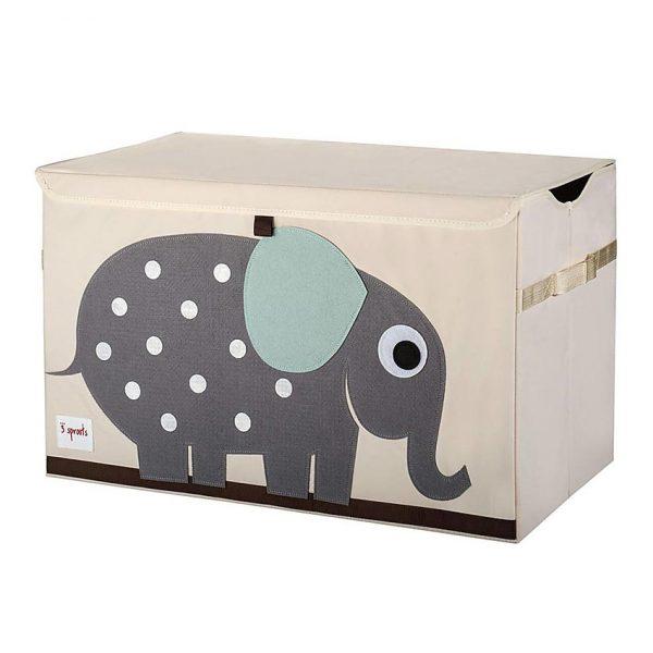 Baule portaoggetti Elefante - 3 Sprouts