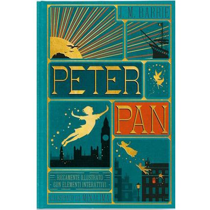 Peter Pan Edizione illustrata da MinaLima
