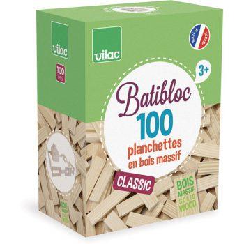 Set costruzione Batibloc classic 100 pezzi Vilac