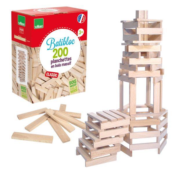 Set costruzione Batibloc classic 200 pezzi Vilac