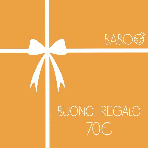 Buono regalo da Baboo 70€