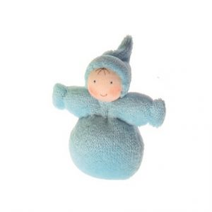 Baby folletto waldorf celeste Grimm's