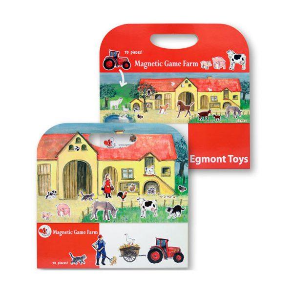 Cartella gioco magnetico Fattoria Egmont Toys