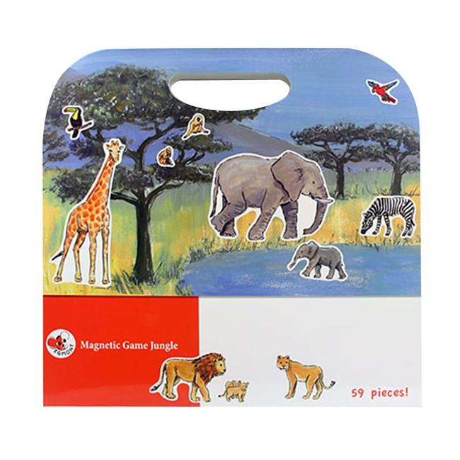 Cartella gioco magnetico Savana Egmont Toys