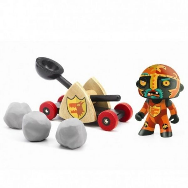 Figura in vinile Arty Toys Cavaliere Baldy & big paf Djeco