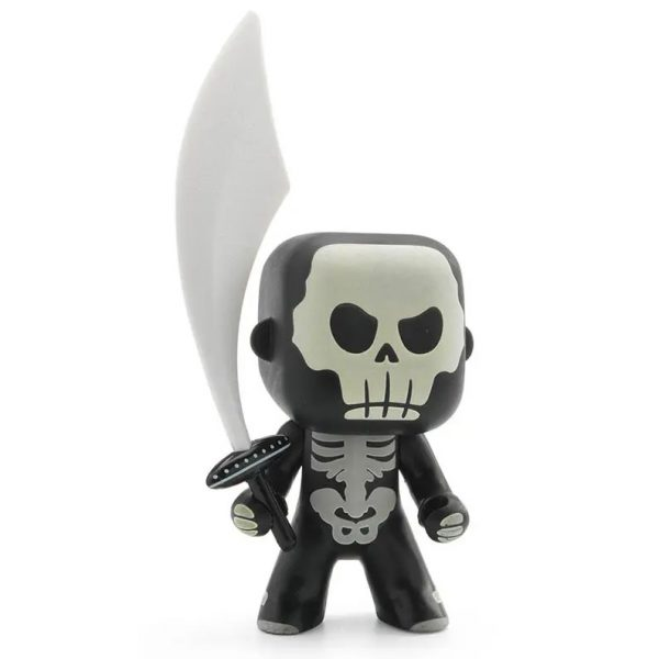 Figura in vinile Arty Toys Cavaliere Skully Djeco