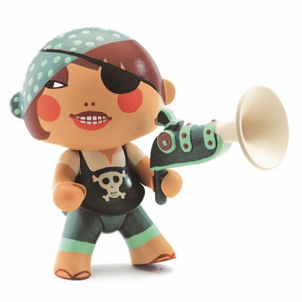 Figura in vinile Arty Toys Pirata Caraiba Djeco