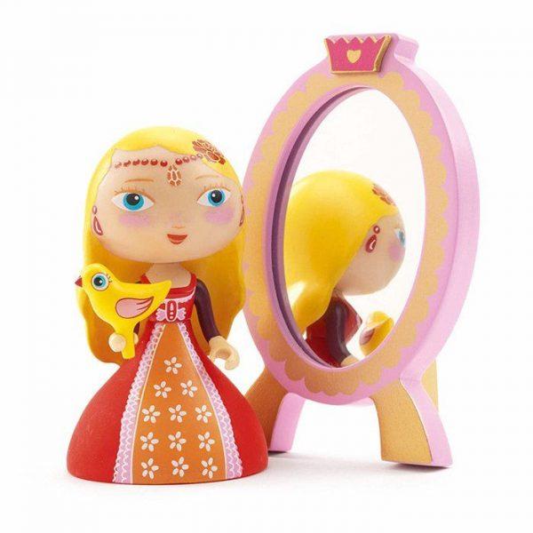 Figura in vinile Arty Toys Princess Nina & Ze Mirror Djeco