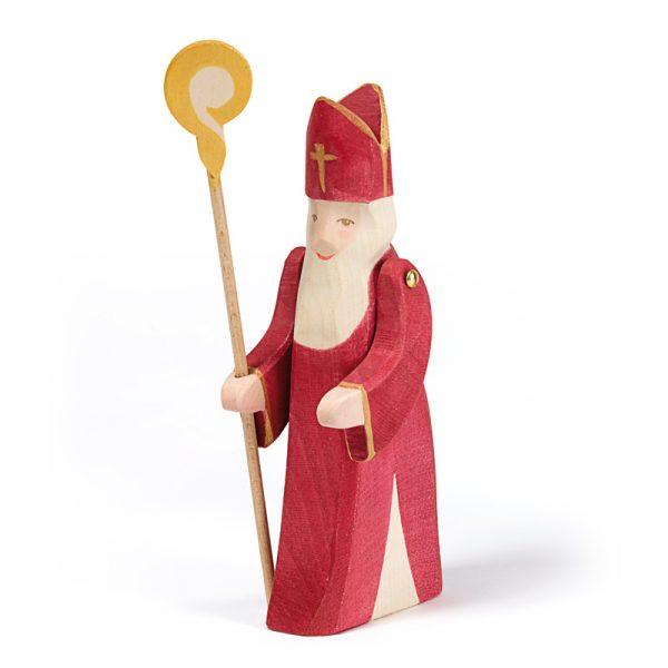 Figura legno San Nicola Ostheimer