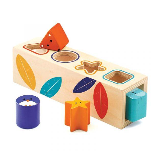 Gioco scatola forme e animali BoitaBasic Djeco