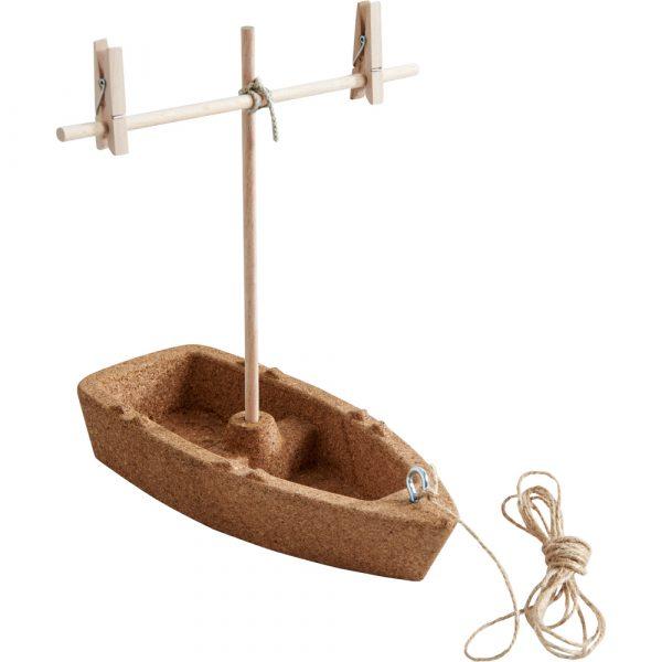 Kit di costruzione Barca in sughero Terra kids HABA