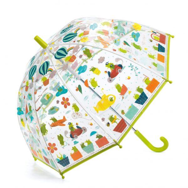 Ombrello bambino Froglets Djeco