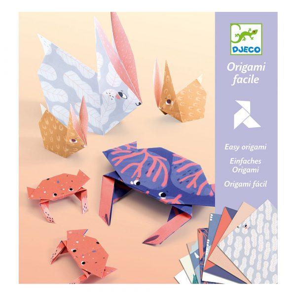 Set artistico Origami Family Animali Djeco