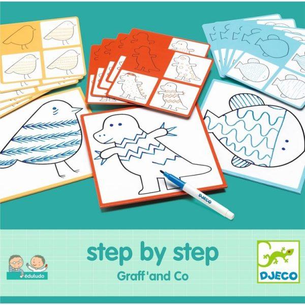 Set creativo EDULUDO step by step Djeco