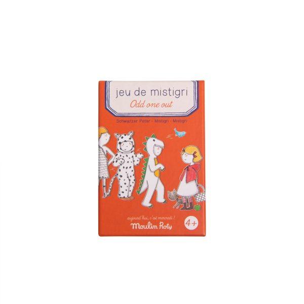 Gioco di carte Mistigri Aujourd'hui c'est Mercredi Moulin Roty