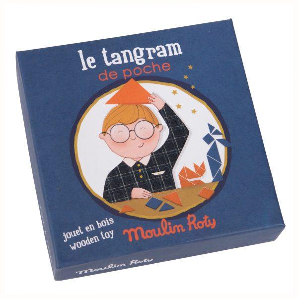 Tangram tascabile Les Petites Merveilles Moulin Roty