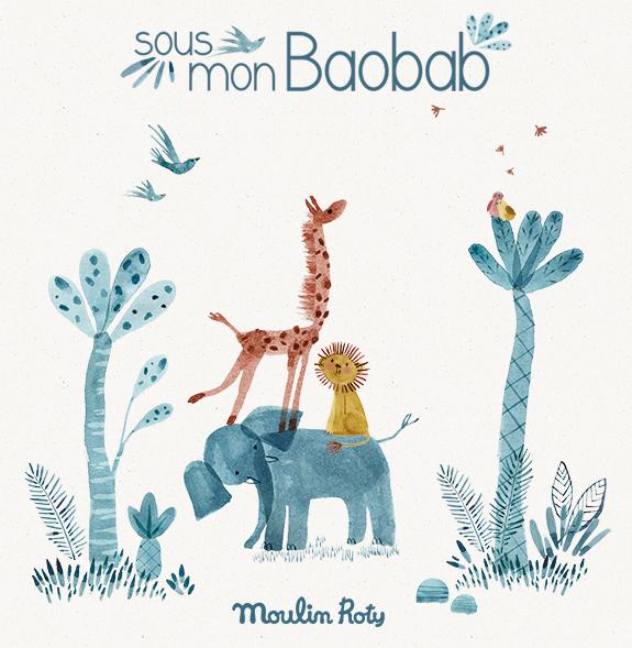 Sous mon Baobab